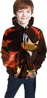 Boys Girls 3D Vintage Hoodies Athletic Long Sleeve Hooded Sweatshirt Tops