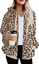 Best leopard print zip up jacket Reviews
