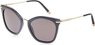 Calvin Klein Butterfly Sunglasses for Women - Black lens, CK1231S-001