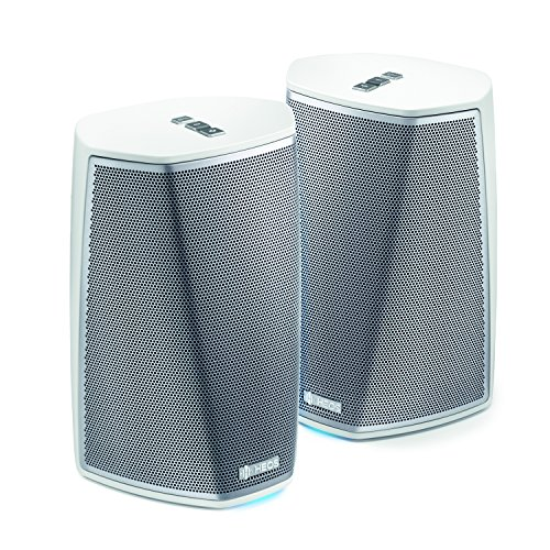 HEOS by Denon HEOS1DUOPACKWTE2 1 HS2 Wireless Speaker DUOPACK, Multiroom Audio-Streaming Vollverstärker weiß