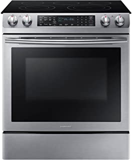 Best samsung slide in electric stove Reviews