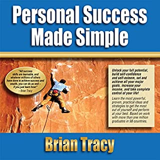Personal Success Made Simple audiobook cover art