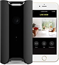 CANARY: View Indoor Security Camera 1080P HD Wide-Angle Lens | Motion Activated Alert Monitoring. ALEXA, iOS, Android, Google, (Pets, Grandparents, Baby, House Monitor), Black