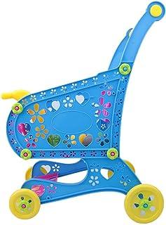 ショッピングカートのおもちゃスーパーマーケットのショッピングトロリー13.8X9.1X18.9シミュレーションショッピングトロリー、ショッピングカートのおもちゃ、子供向け幼児用