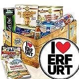 I love Erfurt - Ostprodukte zum Verschenken - Geschenkpaket Erfurt - DDR Paket