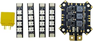 HGLRC PDB Power Distribution Board Support 2S - 5S 6S Input 5V & 12V Output with LED Strip Board and Current Sensor for FPV Racing Drone Race Quad Copter