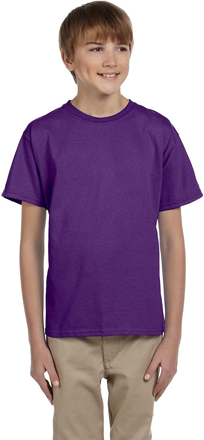 Product of Brand Gildan Youth Ultra Cotton 6 oz T-Shirt - Purple - XL - (Instant Savings of 5% & More)