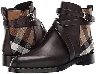 LUXDAMAI Hommes Bout Rond Bottines Grande Taille Chaussures d'affaires Robe Chaussons Martin Bottes Courtes Classique VéLo...