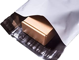 100x Poly Mailer Courier Bags Self Sealing Packing Plastic Shipping Mailing Satchel Exterior Colour White Thickness 60 Mic...
