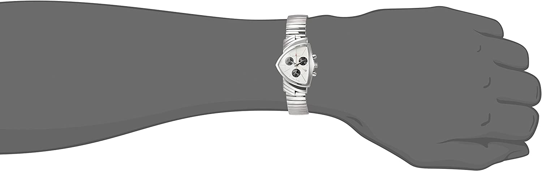 Hamilton H24432151 Ventura Chrono Quartz Unisex Watch Stainless Steel