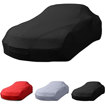 Excolo Auto Schutzhaube Abdeckung Scharz 4 30m Indoor Car Cover Ganzgarage Schutzdecke Auto