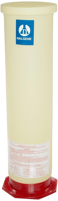 Nalgene Free shipping on 2021 new posting reviews 5242-0050 HDPE Pipet Jar Size E 2
