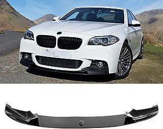 MotorFansClub Front Bumper Lip for BMW F10 5-Ser M-Sport M-tech 2011-2016 Splitter Trim Protection Spoiler