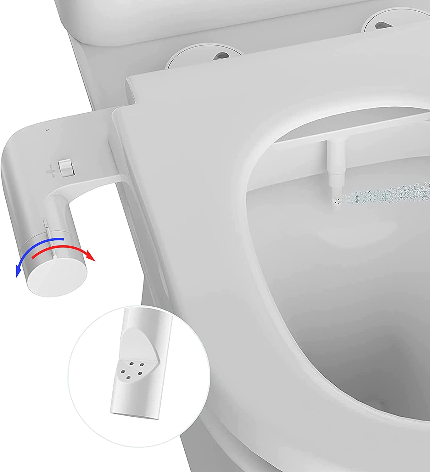 AMAZING FORCE Hot and Cold Ranking TOP14 Toilet Attachment Non-Electric Bidet 70% OFF Outlet