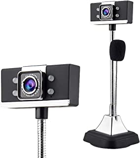 YSY-CY HD Webcam 1080P Streaming Web Camera with Microphones, HD USB Desktop Computer Camera for Video Calling,Gaming Conf...
