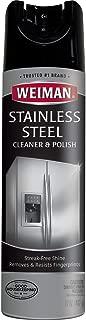 Weiman Stainless Steel Cleaner & Polish Aerosol, 17 fl oz