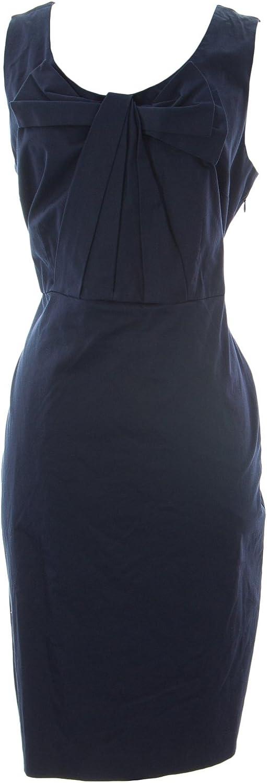 BODEN Women's Beautiful Bow Shift Dress Navy
