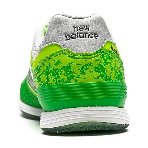 New Balance Audazo Pro Futsal, Zapatilla de fútbol Sala, Green Lime