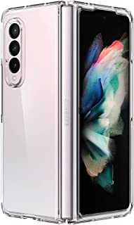 Spigen Ultra Hybrid Back Cover Case Compatible with Samsung Galaxy Z Fold 3 - Crystal Clear