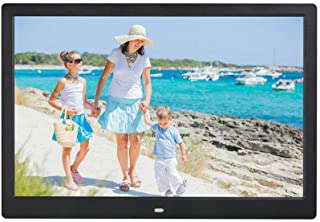Digital Photo Frame 15.4 Inch Widescreen 1280 * 800 High Resolution Full HD LCD Color Display, MP3 / MP4 Player with Remot...