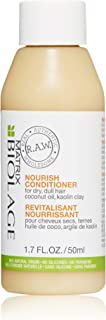 (50ml) - BIOLAGE R.A.W. Nourish Conditioner for Dry, Dull Hair with Coconut Oil and Kaolin Clay