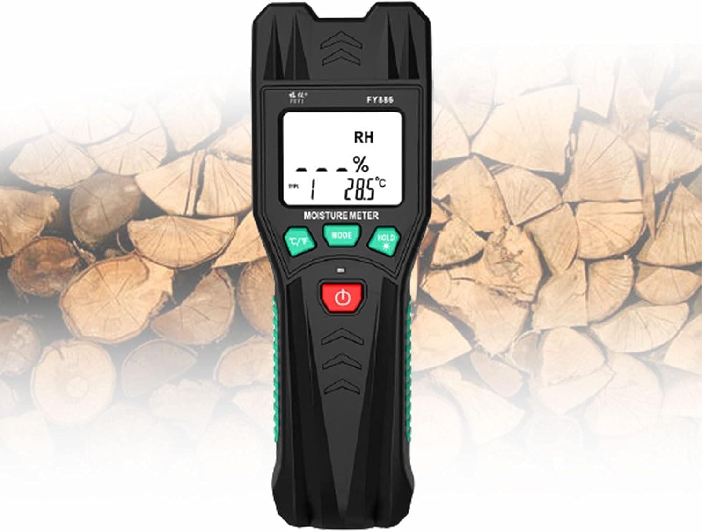 CSYHJRS Digital Moisture Ranking TOP18 Meter Wood Firewood Log Moistur Timber Long Beach Mall