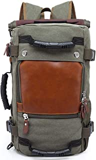 Myzixuan Estilo de viaje de Gran capacidad Mochila Masculina hombro del equipaje ordenador Backpacking Hombre funcional