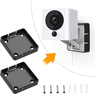 Wyze Cam Black Mount, Wall and Ceiling Mounting Bracket for Wyze Cam V2 Indoor Outdoor 1080p HD Cameras, Complete Set of M...