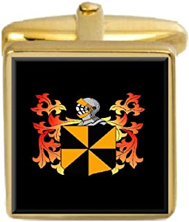 Campbell Scotland Family Crest Coat Of Arms Heraldry Cufflinks Box Set Engraved