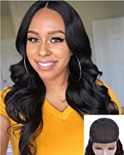 Body Wave Lace Front Wigs Real Human Hair Lace Front Remy Hair Wigs For Black Women Pre Plucked 4x4 Closure Wigs With Baby Hairs Halo Lady Hair 18 inch