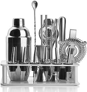 Bartending Making Kit,Bartender The Complete 12 Piece Shaker Set Impressive Home DIY