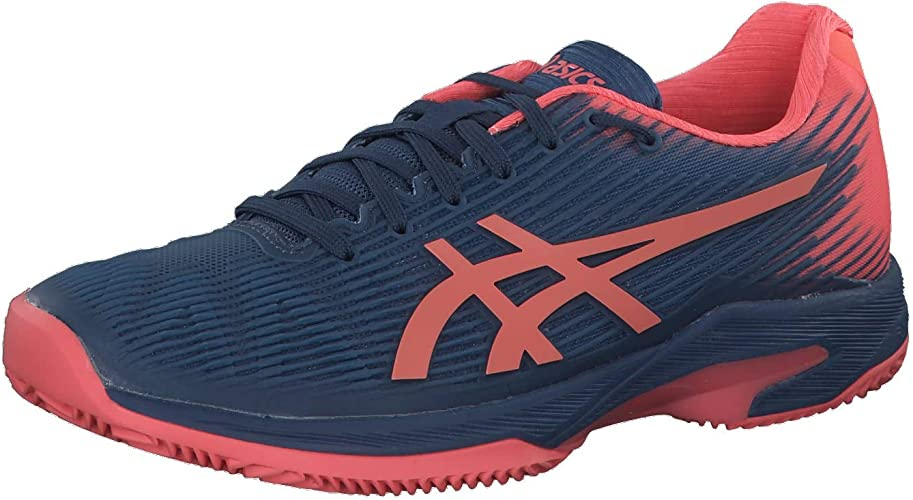 ASICS Chaussures Femme Solution Speed FF Clay Terre Battue Indigo Papaye PE 2019
