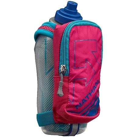 Nathan SpeedDraw Plus Insulated Flask, Handheld Running Water Bottle. Grip Free for Runners, Hiking etc.