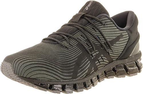 ASICS Hommes's Gel-Quantum 360 4 FonctionneHommest chaussures,Dark gris noir, 9.5 D(M) US