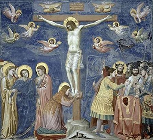 Posterazzi Crucifixion Poster Print by Giotto, (12 x 12)