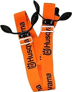 Husqvarna Bretelles pour pantalon de bûcheron Orange/Noir