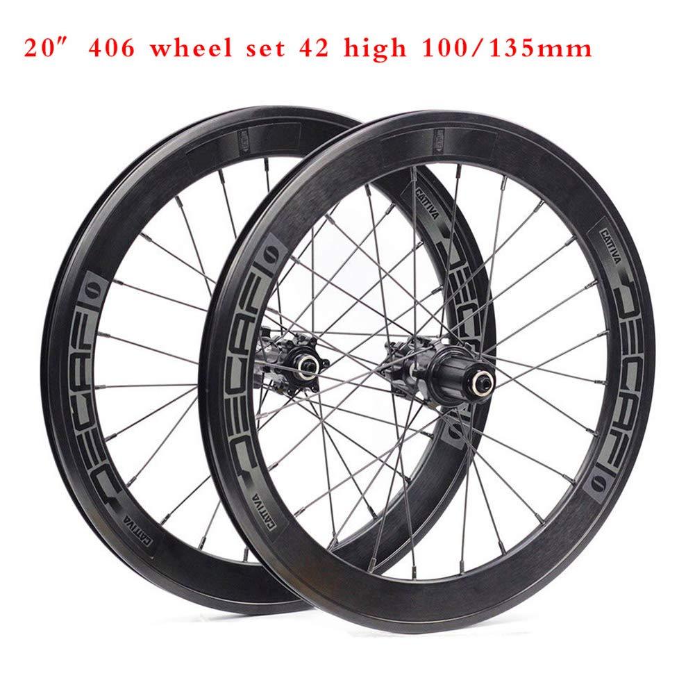 ADD 42mm Aleación de Aluminio Carbono Cubierta Bicicleta Carretera ...