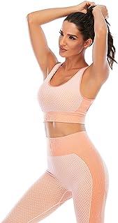 Sports Bra Fit Women's Sports Bra Longline Long Yoga Crop Vest Fitness Workout Running Women's Bra with Padded Short Vest ...