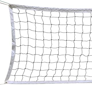 YAHEETECH Volleyball Net with Steel Cable Rope Tournament Full Size Outdoor/Indoor Practice Net