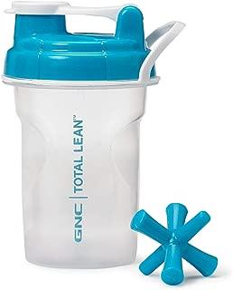 GNC Total Lean Shaker Cup, Blue, 1 Bottle