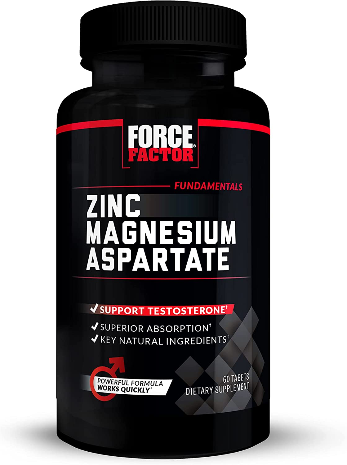 Indianapolis Mall Force Factor Zinc Magnesium free 60 Tablets Aspartate
