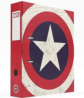 Grupo Erik - Archivador de palanca Escudo Capitán América (28x32 cm) (CAC0022)