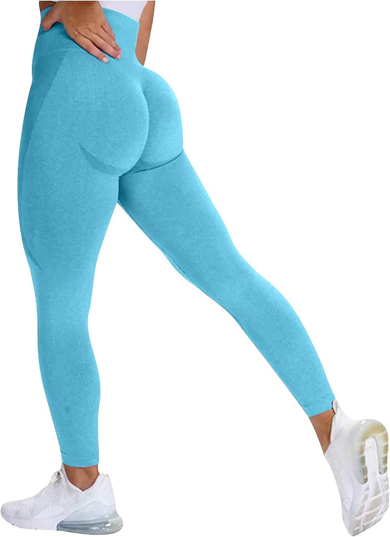 Scrunch Butt Leggings,Booty Butt Lifting Leggings for Women Scrunch High Waist Textured Yoga Workout Pants