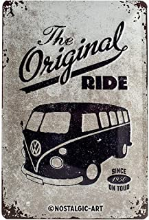 Nostalgic-Art VW Bulli The Original Ride Placa Decorativa,