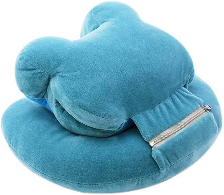 Koala Superstore Abnehmbares und waschbares Plüsch-Doppelschlafkissen, Blauer Bär B07P9XQXK3    Bestellung willkommen eb607e
