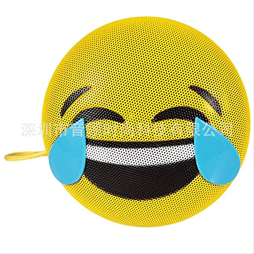 Mobiele telefoon bluetooth luidspreker emoji expressie mobiele telefoon cadeau draadloze bluetooth luidspreker, Cry and Laugh