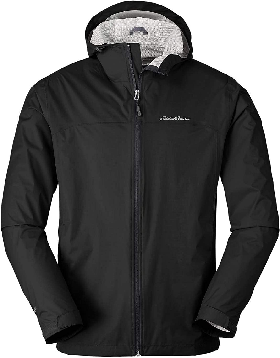 Eddie Bauer Men's Cloud Cap Lightweight Rain Jacket Black Regular XL