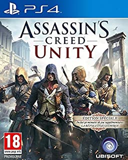 Assassin's Creed: Unity - édition spéciale (B00KYH8F24) | Amazon price tracker / tracking, Amazon price history charts, Amazon price watches, Amazon price drop alerts