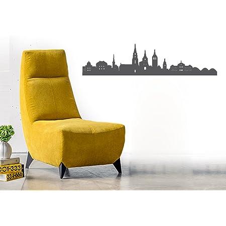 Wandtattoo Bern Skyline Wandsticker Wanddekoration Moderne Stylische Deko Vorraum Wohnzimmer Schlafzimmer Vinyl Decal 60cm Grau Amazon De Kuche Haushalt