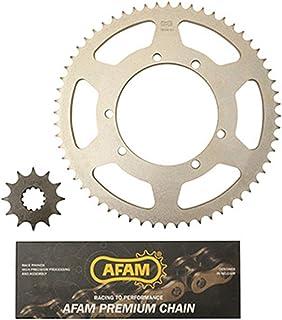 Afam 01213200 Kit cha/îne de moto 2015-2017 kit acier pour YAMAHA MT 125 ABS A